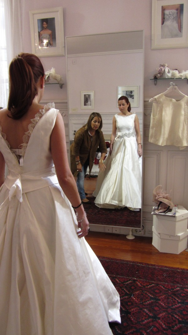 Ana una novia The bride en el atelier 1