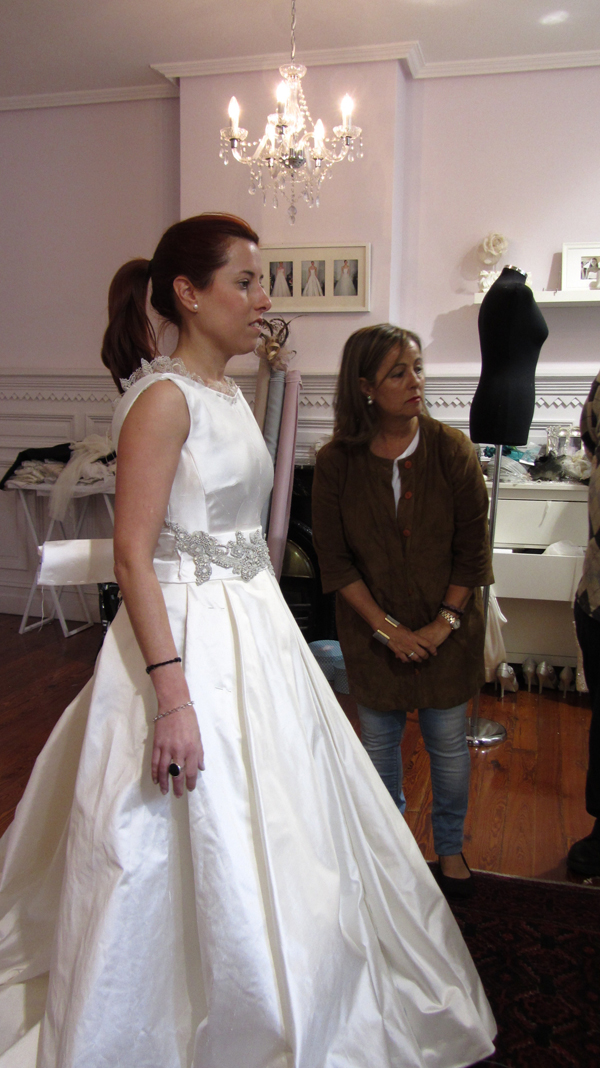 Ana una novia The bride en el atelier 4