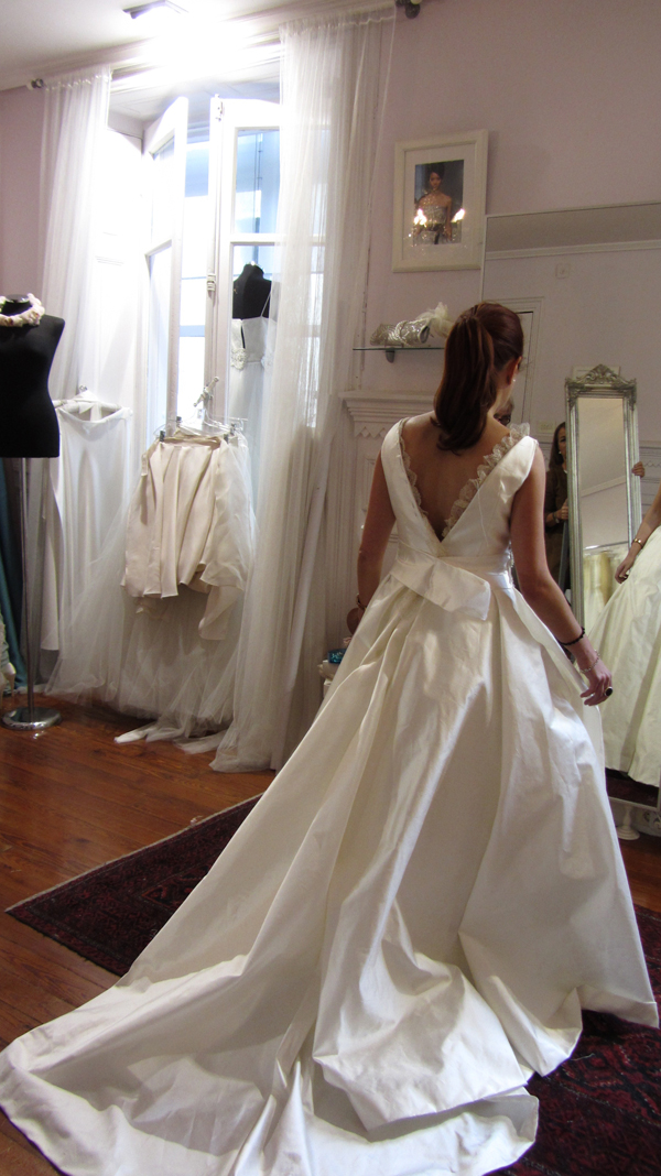 Ana una novia The bride en el atelier (3)